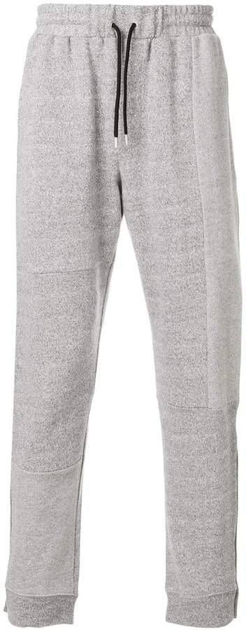 McQ patchwork track pants