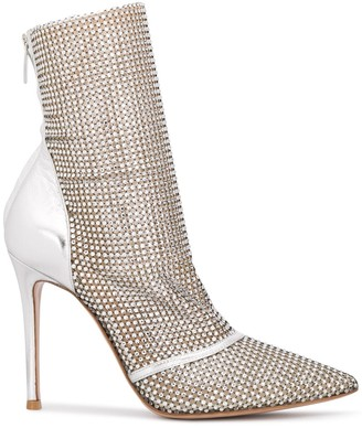 Gianvito Rossi Riccy embellished ankle boots