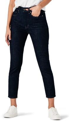 Zndu Modern American Designer Soho Crop Skinny Jeans