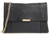 Ted Baker 'Parson' Pebbled Leather Crossbody Bag - Black