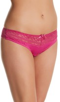 Parfait Lace Trim Thong (Plus Size)