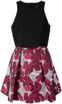 Black Halo flora print dress