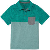 Arizona Short-Sleeve Textured Polo - Boys 8-20 and Husky