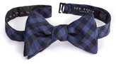Ted Baker Men's Check Silk & Wool Bow Tie