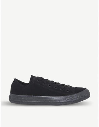 Converse low top suede trainers