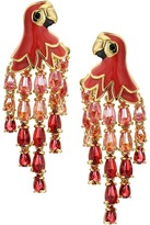 Kate Spade Out of Office Parrot Statement Earrings