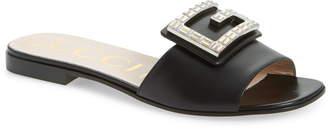 Gucci Madelyn Jewel Slide Sandal