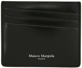 Maison Margiela Green Leather Card Holder