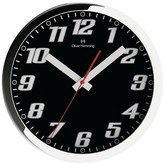 "Oliver Hemming Wall Clock with Bold Readable Numbers - White (12"")"