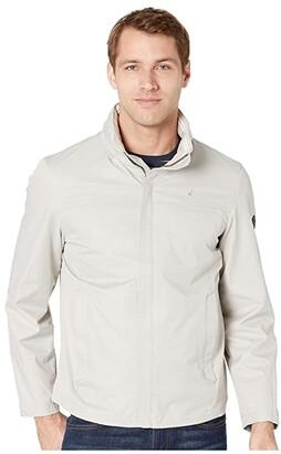 Nautica New Anchor Bomber Jacket (Beach Sand) Men's Coat