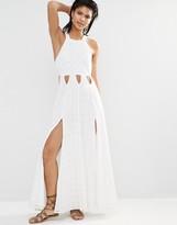 Tularosa Duchess Side Split Maxi Dress