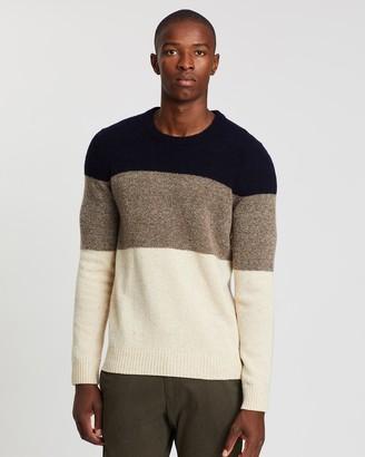 NN07 Ed Block Wool Jumper