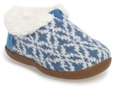 Toms Infant Girl's Tiny Fair Isle Slipper