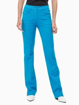 Calvin Klein Cotton Stretch 5-Pocket Bootcut Pants