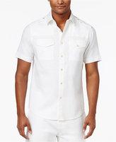 Sean John Men's Lightweight Linen Shirt, Only at Macy's