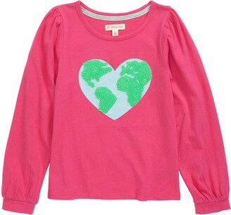 Tucker + Tate Kids' Puff Sleeve Graphic Tee