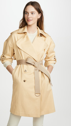 Club Monaco ADJ Sleeve Trench Jacket