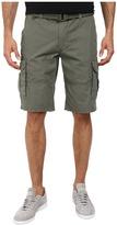 DKNY Mini Ripstop Cargo Shorts in Dusty Olive
