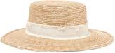 Rag & Bone Laurie grosgrain-trimmed straw hat