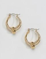 Asos Multi Ball Hoop Earrings