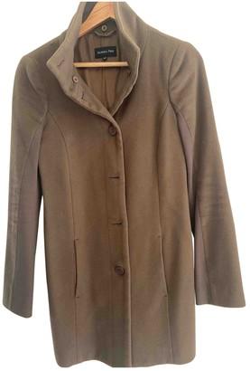 Patrizia Pepe Khaki Cotton Coat for Women