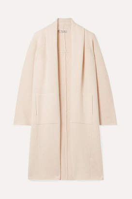 Vince Wool And Cashmere-blend Cardigan - Blush