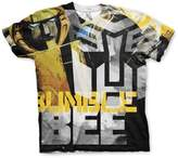 Transformers Officially Licensed Bumble Bee Allover Printed T-Shirt