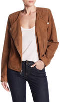 Sanctuary The Way I Am Suede Moto Jacket