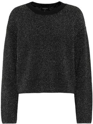 Rag & Bone Jubilee metallic sweater