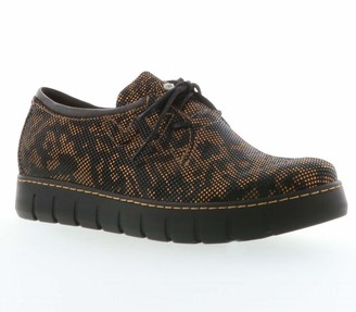Wolky Lace-Up Suede Oxfords - Timba