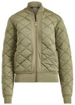 Ralph Lauren Quilted Bomber Jacket Autumn Sage Xl