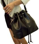 TOP SHOP BAG Top Shop Womens Bucket Rope Barrel Totes Shoulder Messenger Bags Handbags Hobos