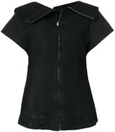 Rick Owens zipped fitted blouse