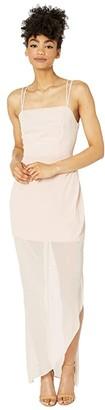 BCBGeneration Evening Strappy Dress - VDW6185701 (Rose Smoke) Women's Dress