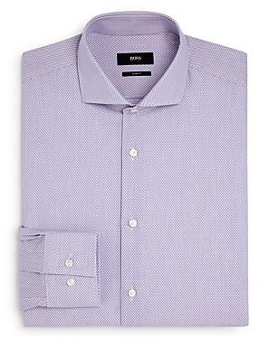 HUGO BOSS Boss Jason Rod Print Slim-Fit Dress Shirt