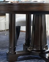 Bernhardt Reeves Pedestal Dining Table