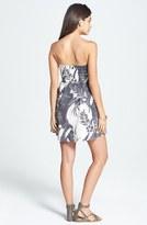 Billabong 'Ocean View' Print Bustier Dress (Juniors)
