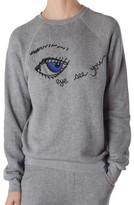 Rag Doll Women's Ragdoll Eye Lounge Sweatshirt