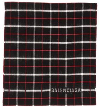 Balenciaga Double-sided scarf