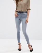Asos RIDLEY Skinny Jeans in Steel Gray