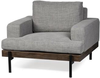 Mercana Home Furniture & Decor Colburne I Wood/Iron Accent Chair