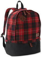 L.L. Bean L.L.Bean Teardrop Backpack, Plaid