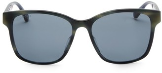 Gucci 56MM Unisex Acetate Sunglasses