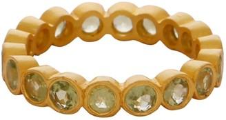 Carousel Jewels Peridot Stones Delicate Band