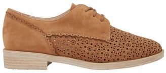 Easy Steps Nero Tan Nubuck Flat Shoe