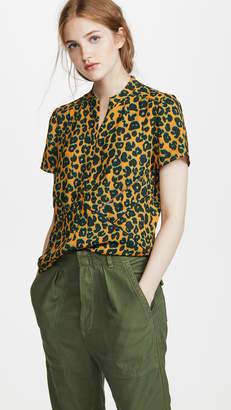 Scotch & Soda Short Sleeve Printed Top
