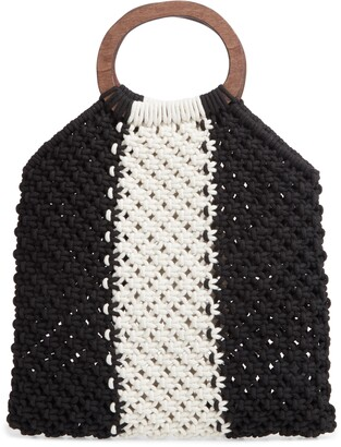 Mali & Lili Riley Stripe Knit Bag