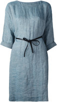 Forte Forte belted dress - women - Linen/Flax - 1
