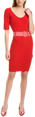 Milly Fitted Sheath Dress