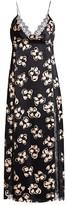 Marina Moscone Floral Lace Slip Dress